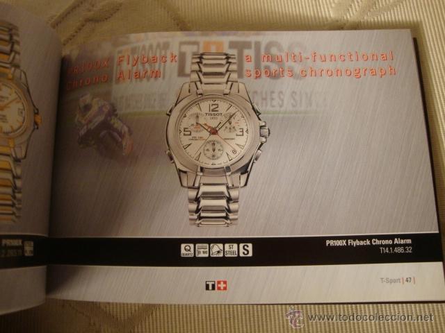 Relojes - Tissot: CATALOGO TISSOT COLECCION AÑO 2004, ORIGINAL, COMPLETO. - Foto 5 - 40153130