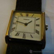 Relojes - Tissot: RELOJ 17 JOYAS TISSOT & FILS PARA HOMBRE - ORO PLATEADO. Lote 44932258