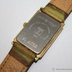 Relojes - Tissot: RE264 RELOJ TISSOT 1853 - QUARTZ - PLAQUÉ ORO - CON PUBLICIDAD DE WINTERTHUR. Lote 91999490
