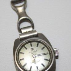 Relojes - Tissot: RE269 RELOJ TISSOT SEASTAR SEVEN MUJER - PULSERA DE PLATA - NO FUNCIONA. Lote 45641188