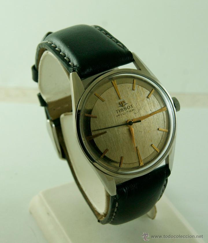 Relojes - Tissot: MUY RARO TISSOT MILITAR CALIBRE 781 MECANICO - Foto 4 - 53732770