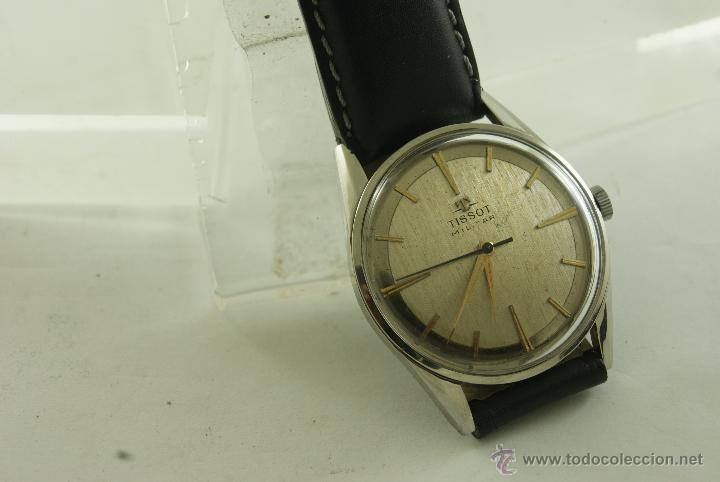 Relojes - Tissot: MUY RARO TISSOT MILITAR CALIBRE 781 MECANICO - Foto 8 - 53732770