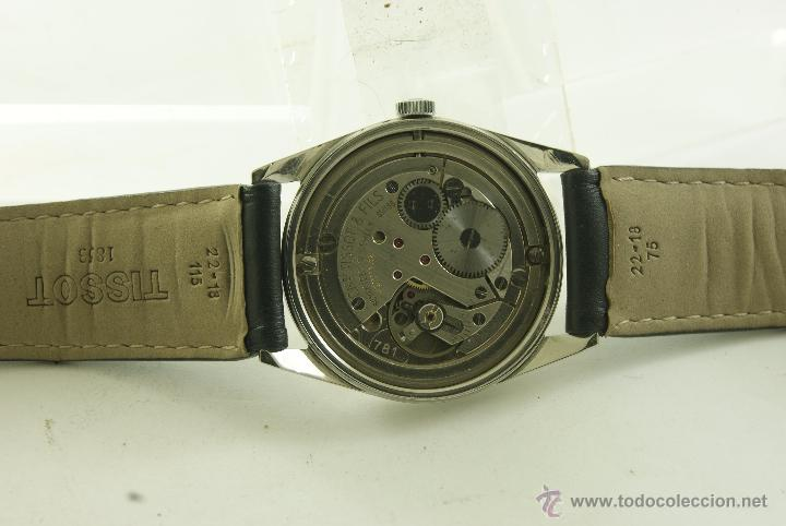 Relojes - Tissot: MUY RARO TISSOT MILITAR CALIBRE 781 MECANICO - Foto 17 - 53732770