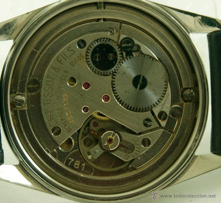 Relojes - Tissot: MUY RARO TISSOT MILITAR CALIBRE 781 MECANICO - Foto 18 - 53732770