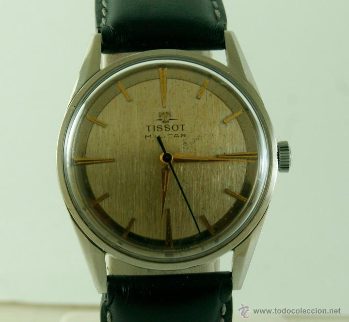 Relojes - Tissot: MUY RARO TISSOT MILITAR CALIBRE 781 MECANICO - Foto 2 - 53732770