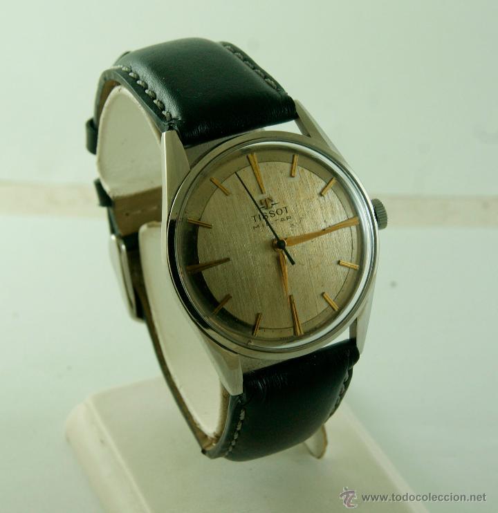 MUY RARO TISSOT MILITAR CALIBRE 781 MECANICO (Relojes - Relojes Actuales - Tissot)
