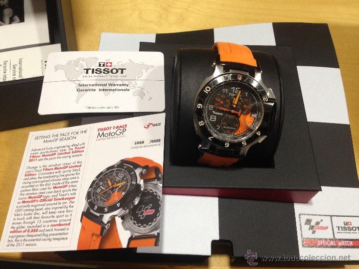 TISSOT T-RACE MOTO GP 2011. EDICION LIMITADA. PIEZA DE COLECCIÓN. (Relojes - Relojes Actuales - Tissot)