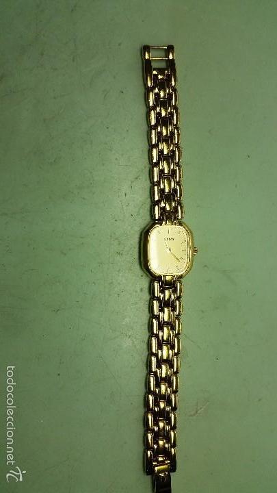 Relojes - Tissot: Reloj de señora Tissot chapado de oro, cuarzo - Foto 3 - 108782867