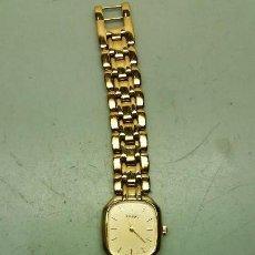 Relojes - Tissot: RELOJ DE SEÑORA TISSOT CHAPADO DE ORO, CUARZO. Lote 108782867