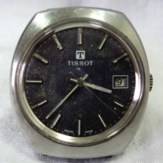 Relojes - Tissot: RELOJ TISSOT CALIBRE 2461 CON CALENDARIO CARGA MANUAL CORREA DE CUERO WATCH. Lote 63682239