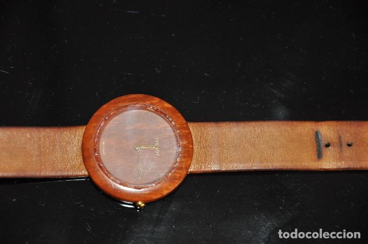 Relojes - Tissot: RELOJ TISSOT GENUINE WOODWATCH SWISS QUARTZ W 151 - Foto 3 - 64369427