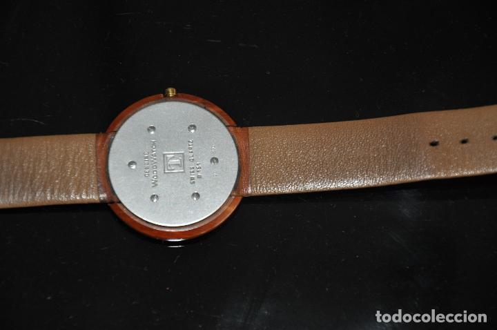 Relojes - Tissot: RELOJ TISSOT GENUINE WOODWATCH SWISS QUARTZ W 151 - Foto 4 - 64369427