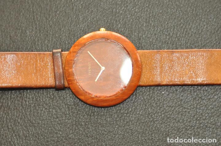 Relojes - Tissot: RELOJ TISSOT GENUINE WOODWATCH SWISS QUARTZ W 151 - Foto 9 - 64369427