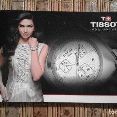 Relojes - Tissot: CATÁLOGO DE RELOJES TISSOT - 2008. Lote 82469240