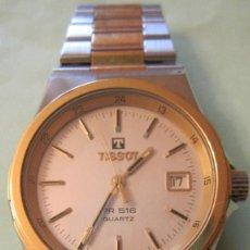 Relojes - Tissot: RELOJ TISSOT CON MITICO CALIBRE PR516. ACERO Y CHAPADO BRILLANTES. FUNCIONANDO.RELOJERIA. Lote 93368235