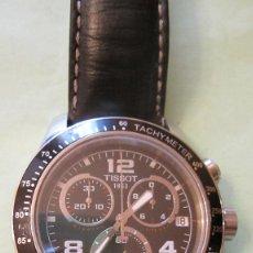 Relojes - Tissot: ACTUAL RELOJ TISSOT V8. CRONOGRAFO REAL Y TAQUIMETRO.EN ACERO, DIAL NEGRO Y BISEL NEGRO. IMPECABLE. Lote 99130500