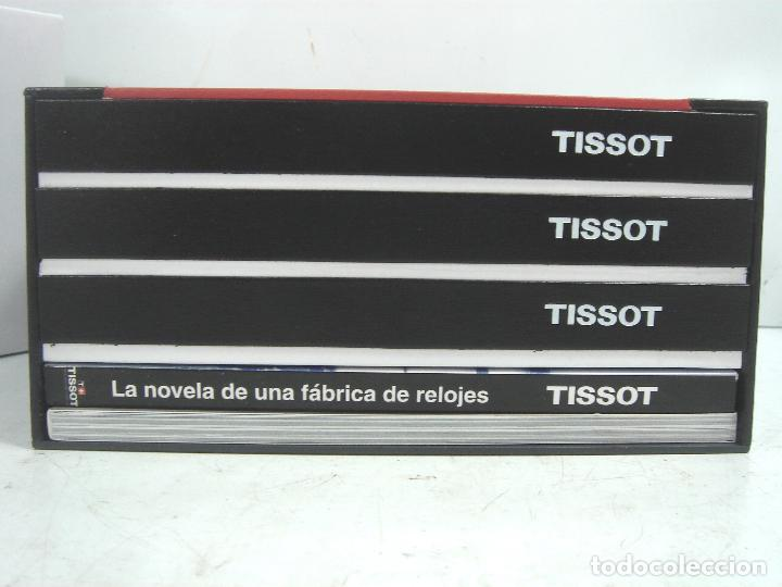 Relojes - Tissot: CAJA LUJO - RELOJ TISSOT - MADERA PIEL ¡¡ MUY COMPLETA ¡¡ MANUAL GARANTIA - ESTUCHE FUNDA 2 - Foto 7 - 93399755