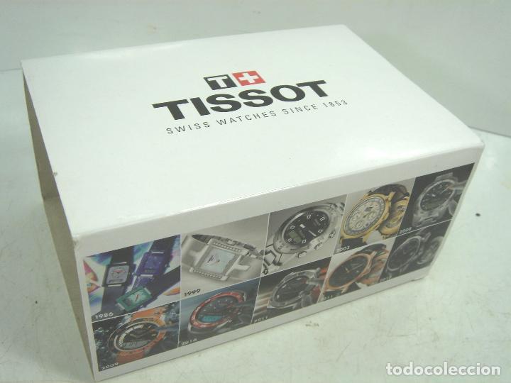 Relojes - Tissot: CAJA LUJO - RELOJ TISSOT - MADERA PIEL ¡¡ MUY COMPLETA ¡¡ MANUAL GARANTIA - ESTUCHE FUNDA 2 - Foto 10 - 93399755