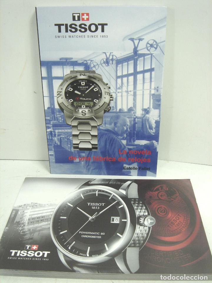 Relojes - Tissot: CAJA LUJO - RELOJ TISSOT - MADERA PIEL ¡¡ MUY COMPLETA ¡¡ MANUAL GARANTIA - ESTUCHE FUNDA 2 - Foto 13 - 93399755