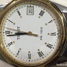 Relojes - Tissot: RELOJ TISSOT PR100 EN ACERO COMPLETO QUARZO EN FUNCIONAMIENTO EN SU CAJA . Lote 101029155