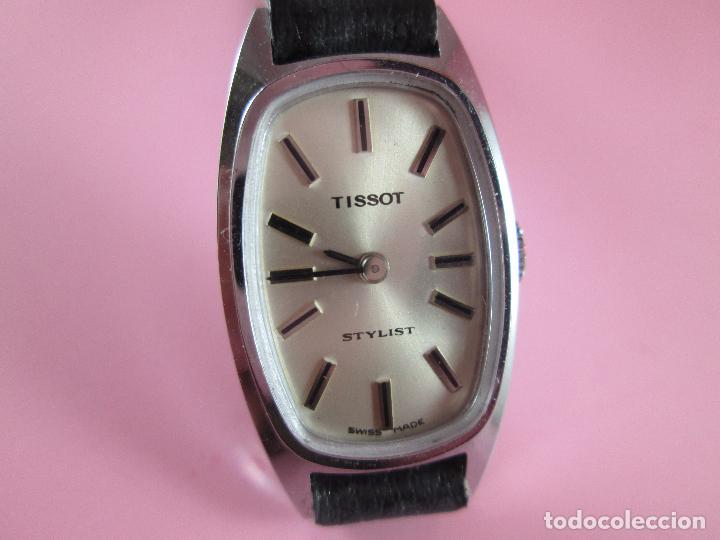 RELOJ-TISSOT STYLIST-SEÑORA-SWISS MADE-18X24 MM-NUEVO-NOS-VER FOTOS (Relojes - Relojes Actuales - Tissot)