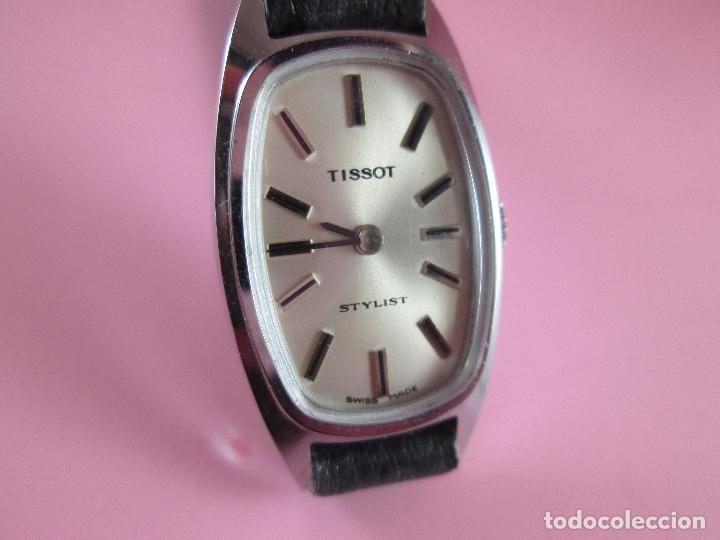 Relojes - Tissot: reloj-tissot stylist-señora-swiss made-18X24 mm-nuevo-nos-ver fotos - Foto 2 - 104733179