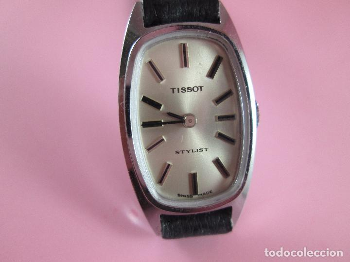 Relojes - Tissot: reloj-tissot stylist-señora-swiss made-18X24 mm-nuevo-nos-ver fotos - Foto 3 - 104733179