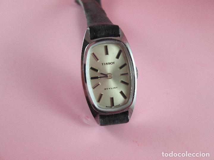 Relojes - Tissot: reloj-tissot stylist-señora-swiss made-18X24 mm-nuevo-nos-ver fotos - Foto 4 - 104733179