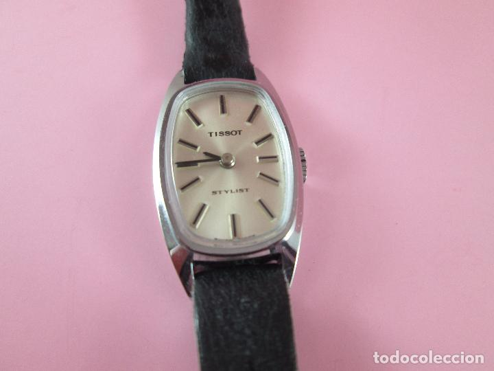 Relojes - Tissot: reloj-tissot stylist-señora-swiss made-18X24 mm-nuevo-nos-ver fotos - Foto 6 - 104733179