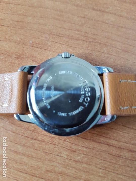 Relojes - Tissot: Reloj señora Tissot 1853 en acero con calendario a las tres, correa de cuero marrón nueva sin uso - Foto 14 - 105748611