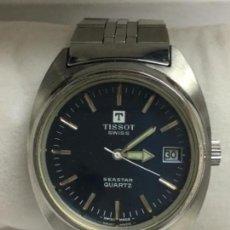 Relojes - Tissot: RELOJ TISSOT SEASTAR QUARTZ SWISS MADE EN ACERO COMPLETO COMO NUEVO EN SU CAJA. Lote 119265599