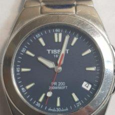 Relojes - Tissot: RELOJ TISSOT 1853 PR200 SAFIRO Y ACERO QUIRÚRGICO. Lote 130070898