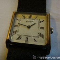 Relojes - Tissot: RELOJ 17 JOYAS TISSOT & FILS PARA HOMBRE - ORO PLATEADO. Lote 132006630
