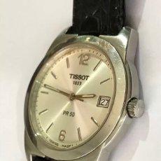 Relojes - Tissot: RELOJ TISSOT 1853 PR 50 QUARTZ CALENDAR CON CRISTAL DE ZAFIRO SWISS MADE. Lote 132769033