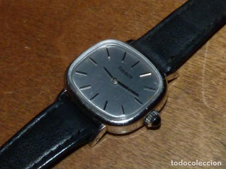 ELEGANTE RELOJ TISSOT CARGA MANUAL CALIBRE 2141 (OMEGA 625) CORREA ORIGINAL VINTAGE AÑOS 70 (Relojes - Relojes Actuales - Tissot)