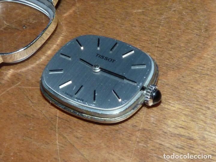 Relojes - Tissot: Elegante reloj Tissot carga manual CALIBRE 2141 (Omega 625) correa original vintage años 70 - Foto 7 - 134709854