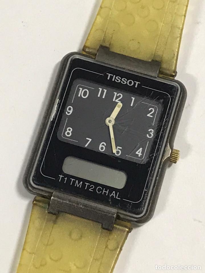 RELOJ VINTAGE TISSOT TWOTIMER SWISS MADE (Relojes - Relojes Actuales - Tissot)