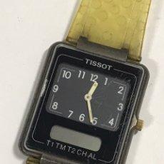 Relojes - Tissot: RELOJ VINTAGE TISSOT TWOTIMER SWISS MADE. Lote 144970505