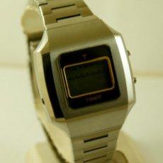 Relojes - Tissot: RARO TISSOT LCD DIGITAL NOS ACERO. Lote 146264814