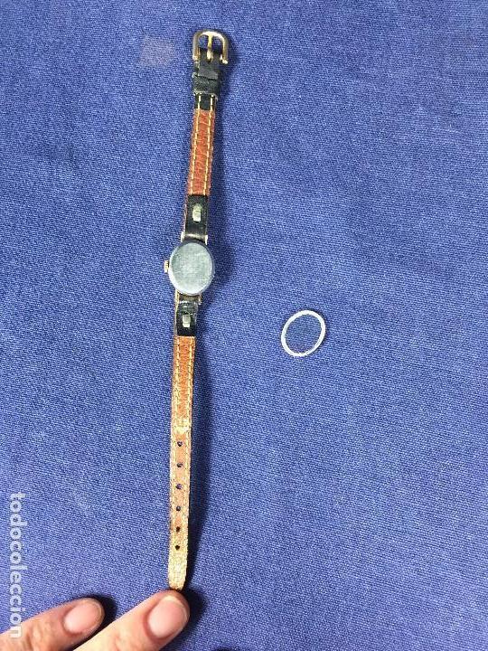 Relojes - Tissot: reloj original tissot suizo modelo saphir señora dorado correa de piel años 50 - Foto 19 - 149437778