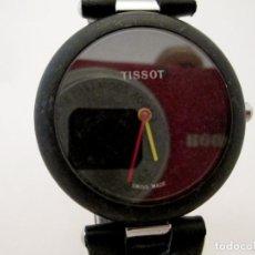 Relojes - Tissot: TISSOT ROCK WATCH 151 NEGRO DE HOMBRE EN EXCELENTES CONDICIONES COSMETICAS Y DE FUNCIONAMIENTO. Lote 159859354