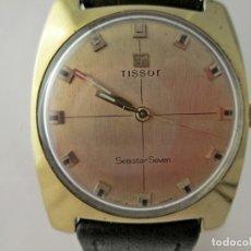 Relojes - Tissot: TISSOT SEASTAR SEVEN CUERDA REVISADO VINTAGE GENTS TISSOT SEASTAR SEVEN SERVICED. Lote 159859758