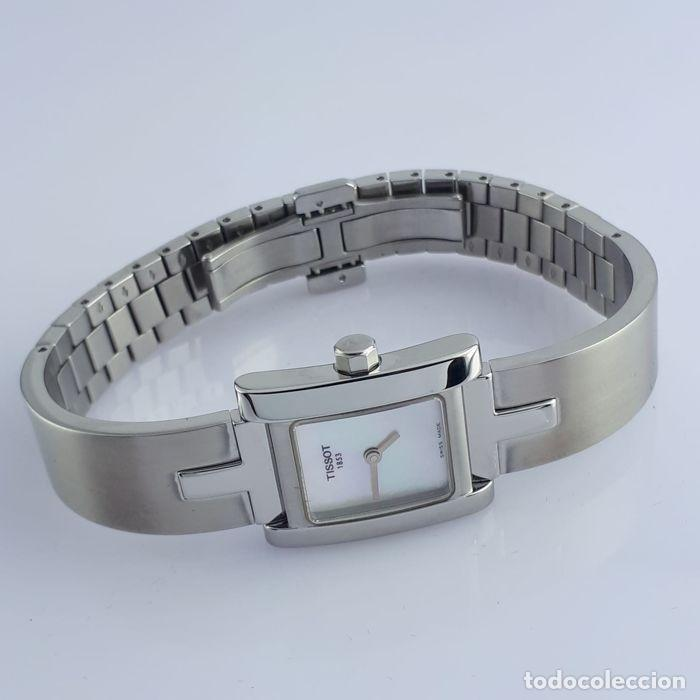 Relojes - Tissot: Reloj Tissot Mother Of Pearl para mujer, modelo L950, 2010, perfecto estado. Caja de reloj. - Foto 4 - 160320726