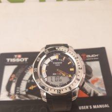 Relojes - Tissot: PRECIOSO RELOJ TACTIL TISSOT SEA-TOUCH.CON INSTRUCCIONES Y PILA RECIEN CAMBIADA.. Lote 166556104