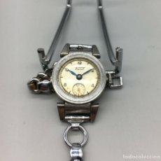 Relojes - Tissot: BONITO RELOJ TISSOT PARA MUJER DE 1947 CON SU BRAZALETE ORIGINAL, FUNCIONANDO, DE CUERDA. Lote 178591030