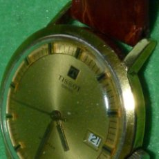 Relojes - Tissot: BONITO RELOJ TISSOT SEASTAR CARGA MANUAL CALIBRE 2461 RARA ESFERA DORADA VINTAGE AÑOS 70. Lote 173316925
