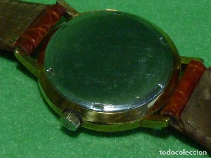 Relojes - Tissot: Bonito reloj Tissot Seastar carga manual CALIBRE 2461 rara esfera dorada vintage años 70 - Foto 5 - 173316925