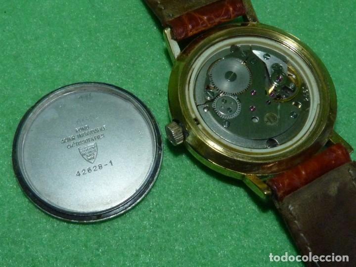 Relojes - Tissot: Bonito reloj Tissot Seastar carga manual CALIBRE 2461 rara esfera dorada vintage años 70 - Foto 7 - 173316925