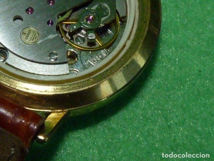 Relojes - Tissot: Bonito reloj Tissot Seastar carga manual CALIBRE 2461 rara esfera dorada vintage años 70 - Foto 10 - 173316925