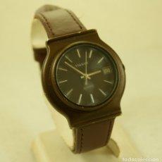 Relojes - Tissot: RARO TISSOT QUARTZ MARRON CHOCOLATE. Lote 174373674